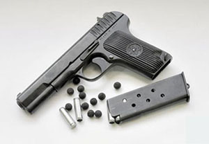 Пистолет разработан на базе